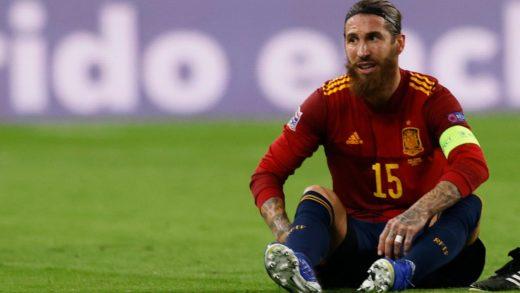 Sergio Ramos sufre nueva lesión y será baja para el Real Madrid