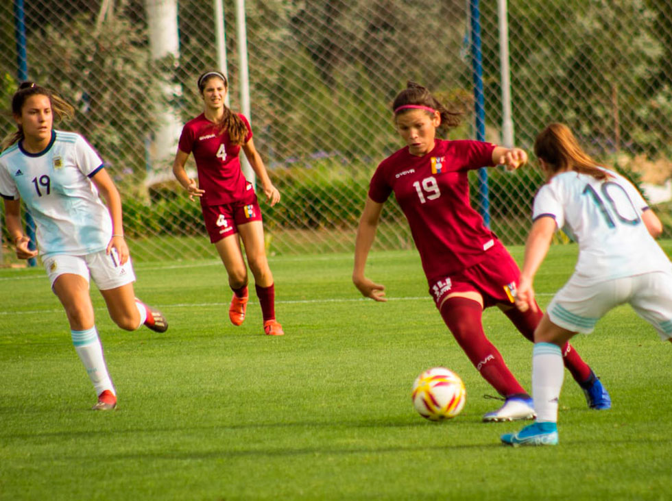 Vinontinto femenina queda en tercer lugar en Basque Country International Women's Cup