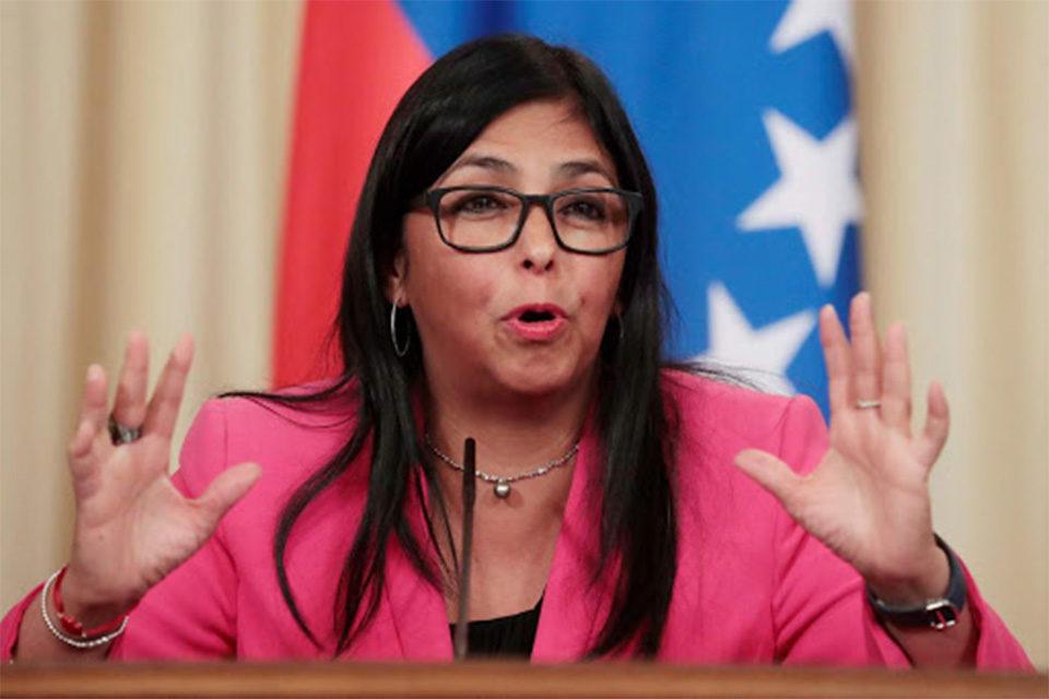 Delcy Rodríguez anuncia que vacunación masiva iniciará en el segundo cuatrimestre de 2021