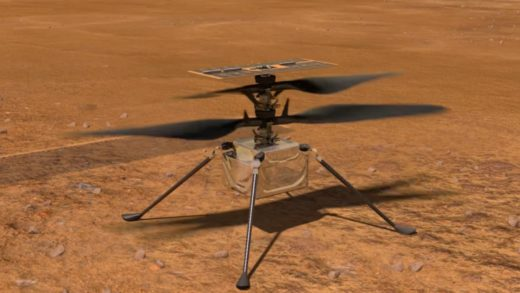 Helicóptero Ingenuity de la NASA vuela sobre Marte este #19Abr