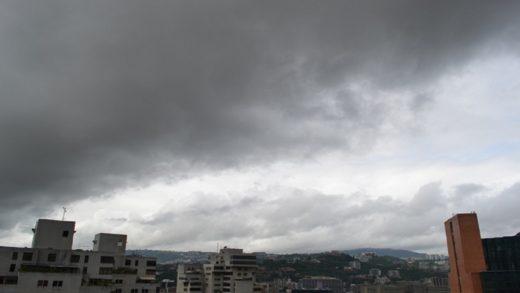 Pronostican nubosidad y precipitaciones acompañadas de actividad eléctrica este #9Abr
