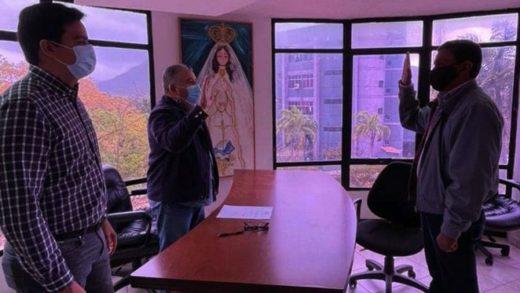 Nuevo prefecto de la parroquia El Valle fue juramentado