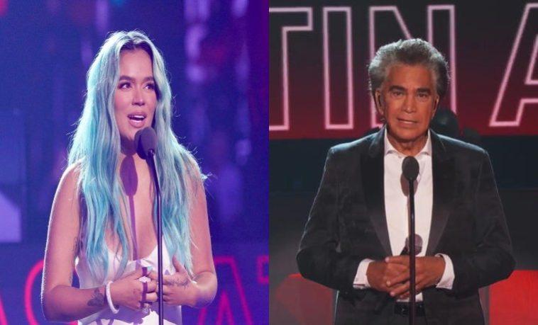 El Puma incomodó a Karol G tras confundirla con Cardi B en los Latin American Music Awards