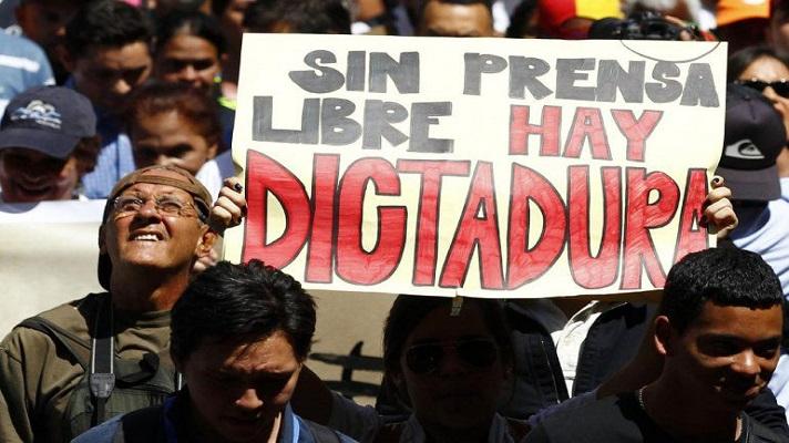 """SIP: """"Hay una dictadura en Venezuela que considera el periodismo independiente como enemigo"""""""