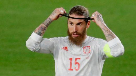 Capitán del Real Madrid, Sergio Ramos dio positivo al covid-19