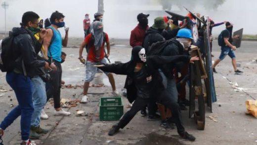 ONU y UE condenan violencia en protestas de Colombia