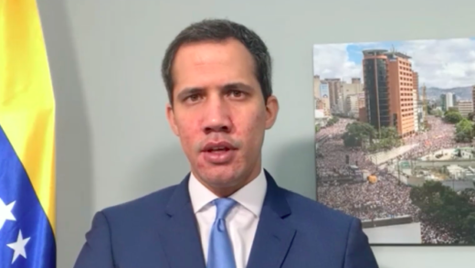 Guaidó denuncia en la cumbre de Copenhague que Maduro le quitó los derechos a los venezolanos