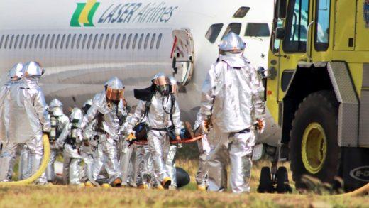Más de 250 personas participaron en el simulacro de emergencia del Aeropuerto de Maiquetía