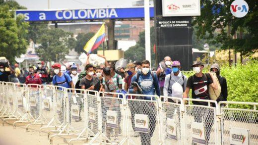 Venezolanos que participaron en las protestas en Cali fueron expulsados de Colombia