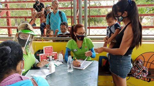 Más de 7.500 familias del municipio Díaz fueron atendidas con jornadas integrantes