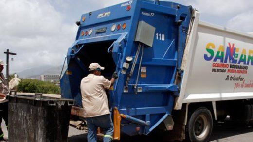 Sanear recolectó y procesó más de 8.500 toneladas de desechos sólidos en Nueva Esparta