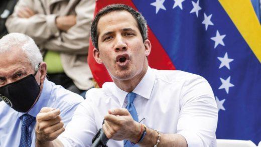 Guaidó cuestiona la llegada de 1,3 millones de vacunas contra la COVID-19 a Venezuela
