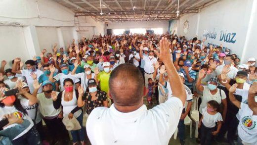 Gobernador Alfredo Díaz juramentó los Centros de Organización Electoral en Villalba