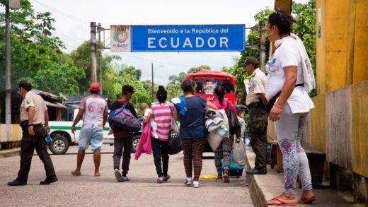96% de migrantes venezolanos ven a Ecuador como destino