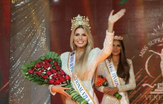 Valentina Sánchez se convirtió en la nueva Miss Supranational Venezuela 2021.