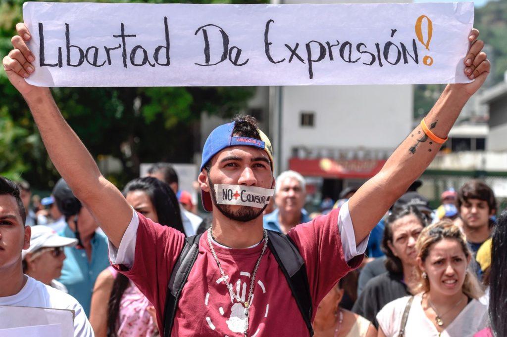 Registran en Venezuela más de 960 violaciones a la libertad de expresión en 2020
