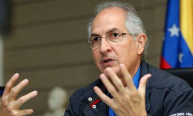 Ledezma asegura que El Coqui es la primera autoridad de Caracas