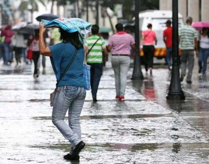 Inameh prevé lluvias constantes en las próximas horas este #10Jun