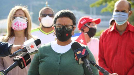 Érika Farias aseguró que al menos 6.000 caraqueños se han vacunado contra el covid-19