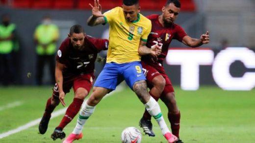 Brasil venció 3-0 a Venezuela en el inició de la Copa América 2021
