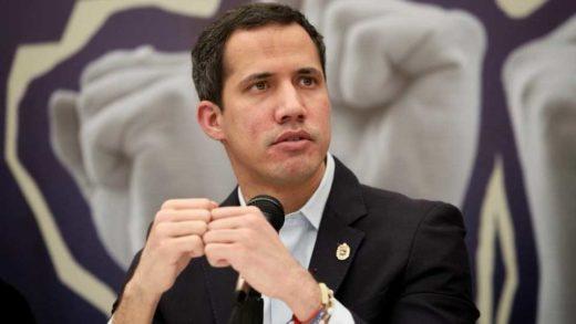 Guaidó rechaza acusaciones del Gobierno sobre las bandas armadas en Caracas