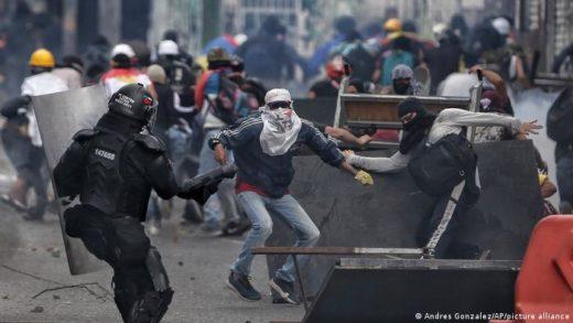 Al menos 22 personas fueron detenidas en las protestas en Colombia