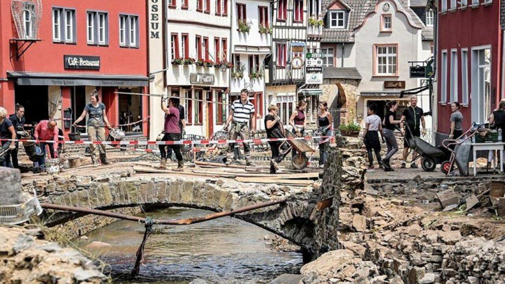 Alemania aprueba 200 millones de euros para ayudar a afectados por inundaciones