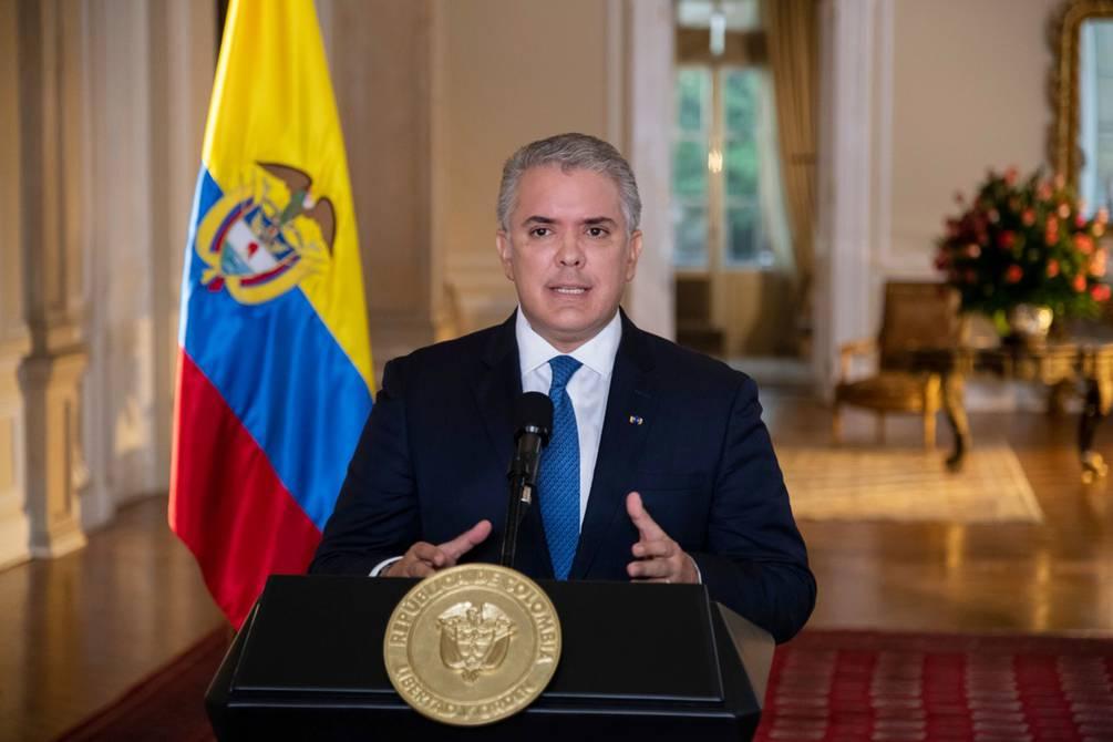 Iván Duque pidió a EE.UU. que declare a Venezuela como promotor del terrorismo