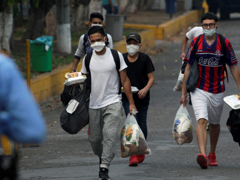 Guatemala detuvo a seis venezolanos que intentaban viajar a Estados Unidos