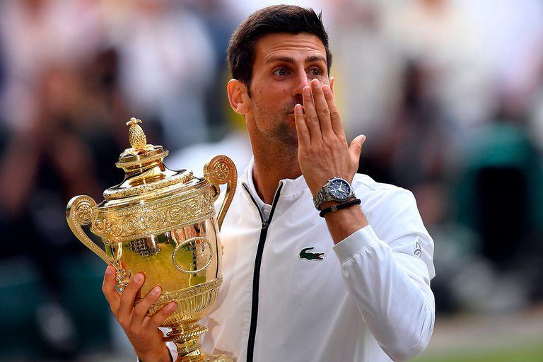 Novak Djokovic conquistó su sexto título de Wimbledon este #11Jul