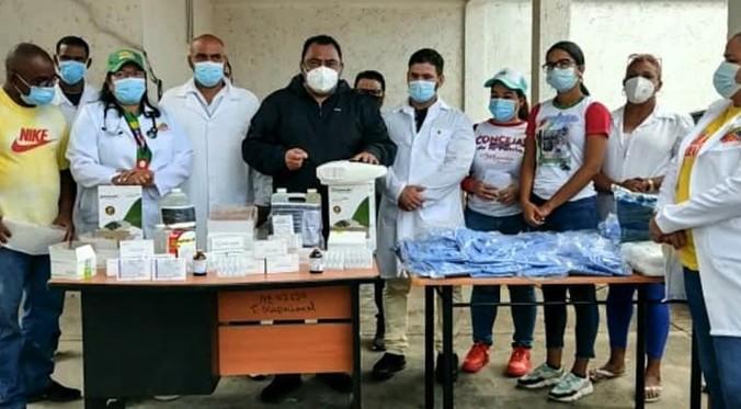 CDI de Los Cocos recibe nueva dotación de insumos