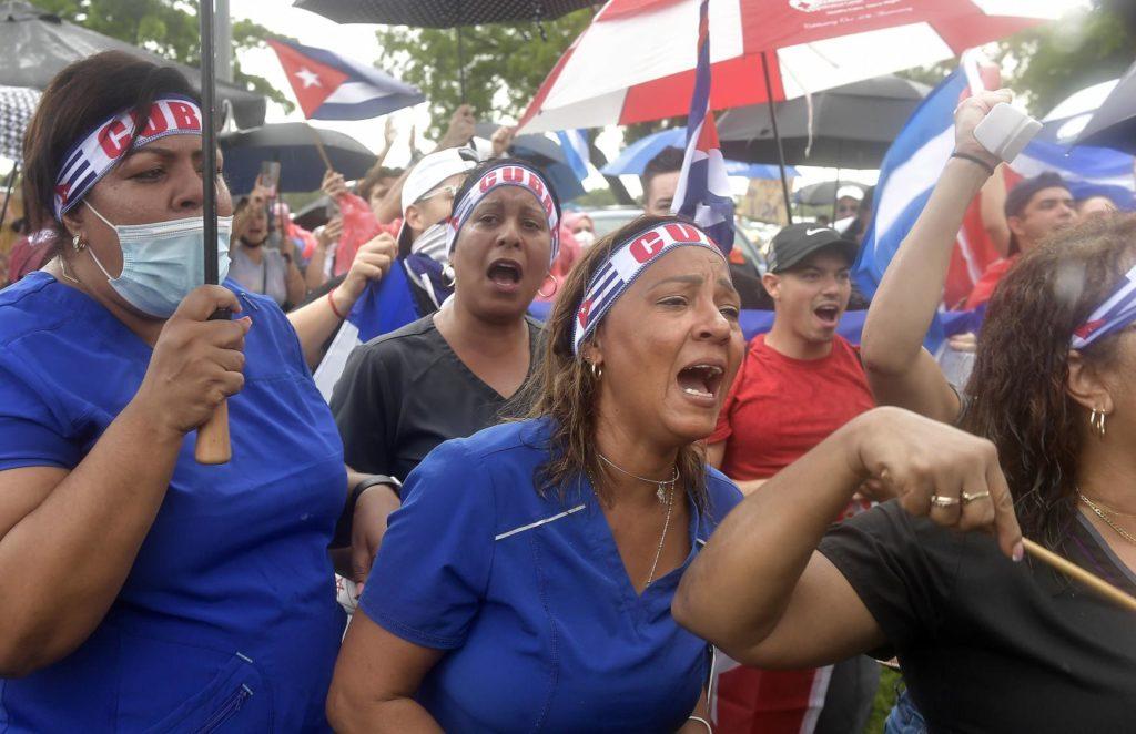 """EE.UU. sancionará a responsables de la """"brutal represión"""" en Cuba"""