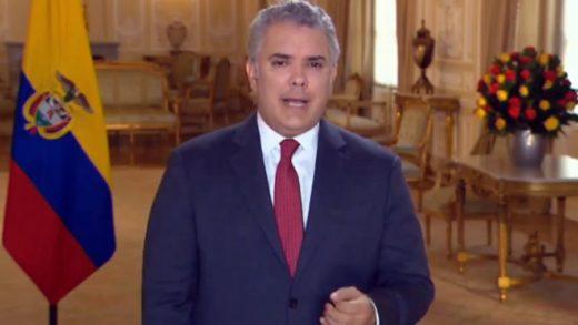 Iván Duque expresó que desea fortalecer la relación comercial con Perú