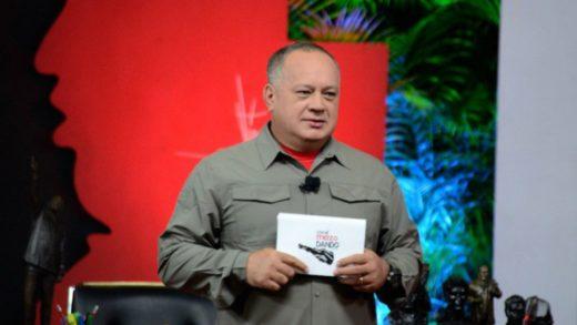 Diosdado Cabello acusa a Twitter de robar la cuenta de su programa televisivo Con el Mazo Dando