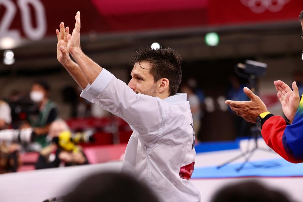 Yulimar Rojas a Antonio Díaz: «Eres inspiración para mí. Gracias por darle tanto al deporte»