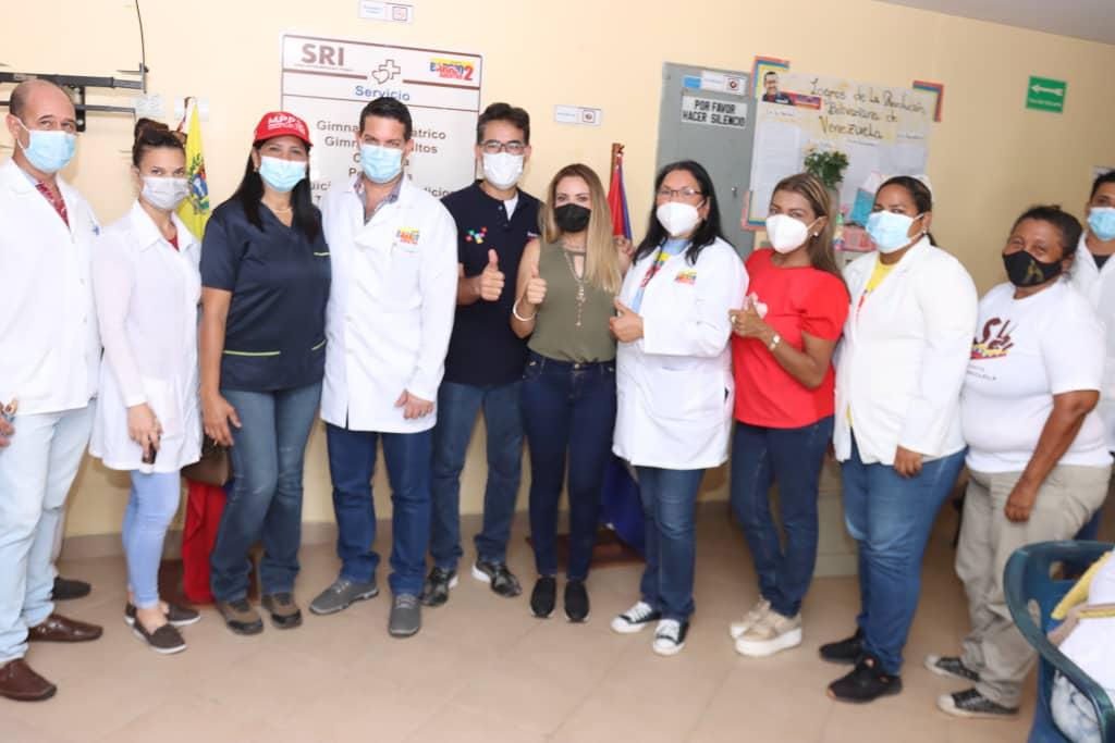 Inauguran centro de vacunación masiva contra el Covid-19 en Antolín del Campo