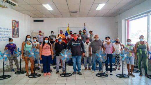 Alcaldía de Mariño entregó dotación a pescadores de la jurisdicción