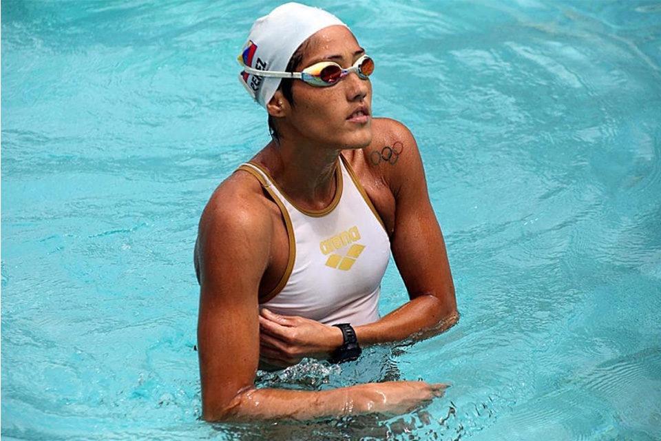 Paola Pérez obtuvo el puesto 20 en la final de aguas abiertas