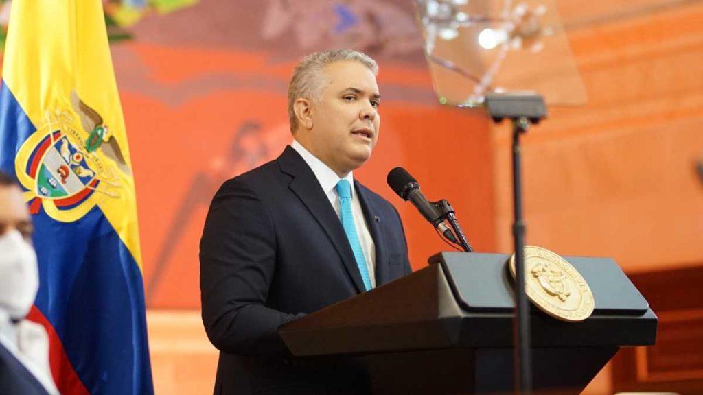 Duque negó que su administración esté protegiendo a delincuentes venezolanos
