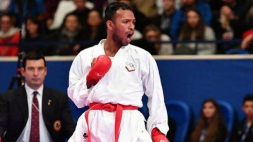 Karateca venezolano Andrés Madera se despide con una victoria y cuatro derrotas