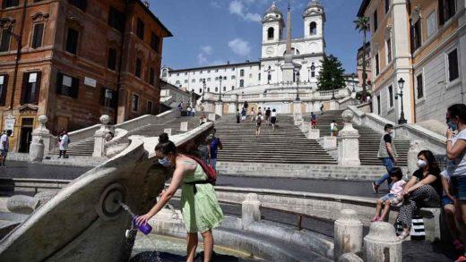 Ola de calor golpeará a Italia con máximas de hasta 48 grados