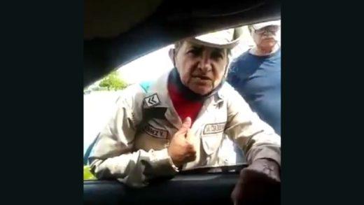 Miliciana que se hizo viral tras cargar contra Maduro se retracta (+Video)