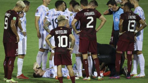 Argentina venció 3-1 a Venezuela en la clasificatoria hacia Catar-2022
