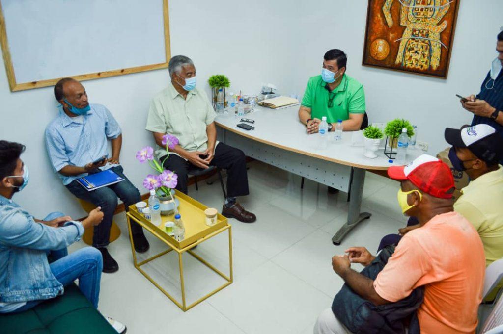 Claudio Fermín asegura que el Chino González es el alcalde que necesita Mariño