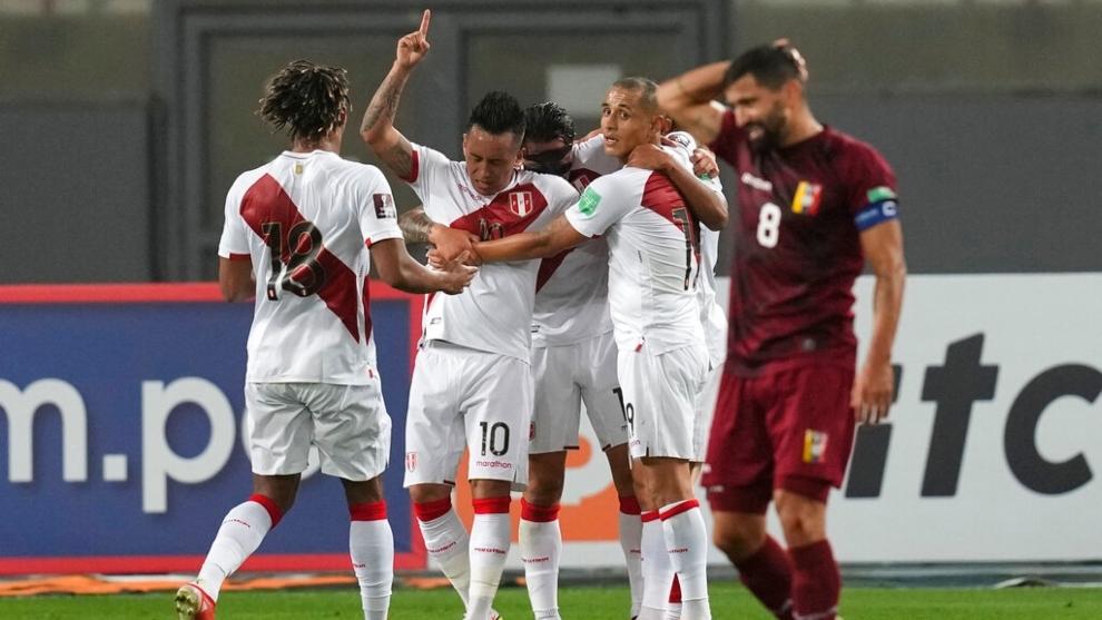 La Vinotinto pierde ante Perú en las eliminatorias de Catar 2022