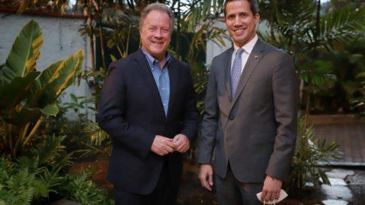 Guaidó se reunió con el director del Programa Mundial de Alimentos
