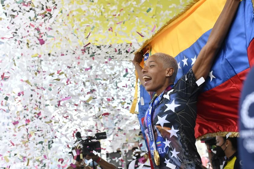 Yulimar Rojas dio un emotivo mensaje a los venezolanos: «Los sueños se hacen realidad»