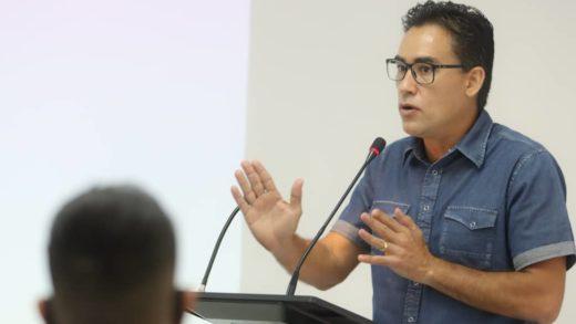 Dante Rivas presenta ante la Cámara de Comercio sus propuestas de desarrollo para Nueva Esparta