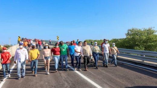 Rehabilitan segundo puente sobre La Restinga