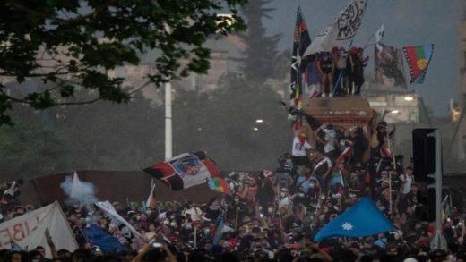 Chile vivió el segundo aniversario del «estallido social» con marchas masivas